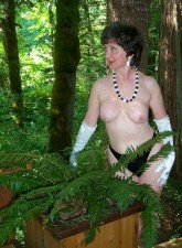 Mature exhibitionist classy carol from united states